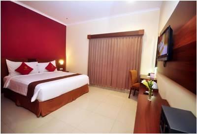 View kamar Nueve Malioboro Hotel Yogyakarta