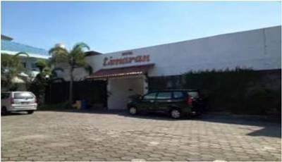 View Depan Hotel Limaran Yogyakarta