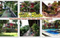Villa Ratu Pancawati Bogor Penginapan Asri Bernuasa Alam