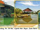 Katumbiri Resort Cijeruk Bogor Tarif Murah Dekat Sungai Cisadane