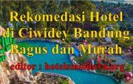 Rekomendasi Hotel di Ciwidey Bandung Murah dan Bagus Ada Kolam Renang Air Panas